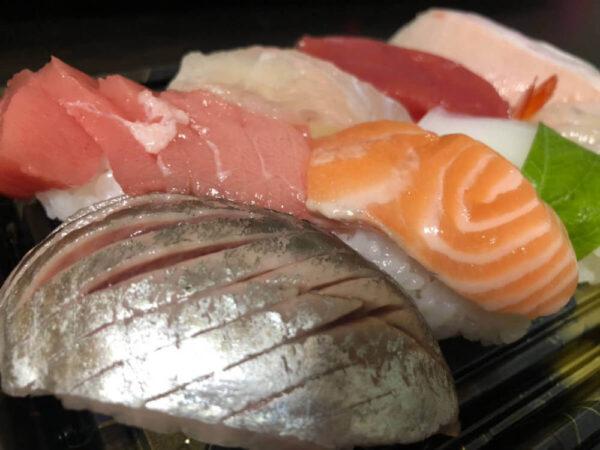 お寿司を食べるためにかっぱ寿司へ行く