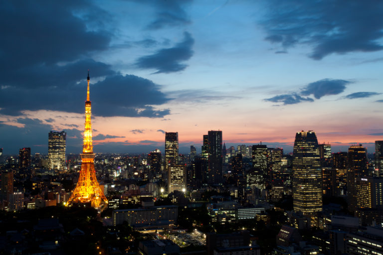 東京での出会い