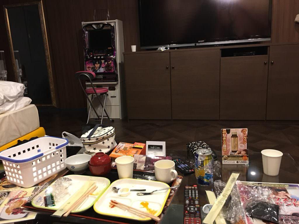 SMホテルで食事
