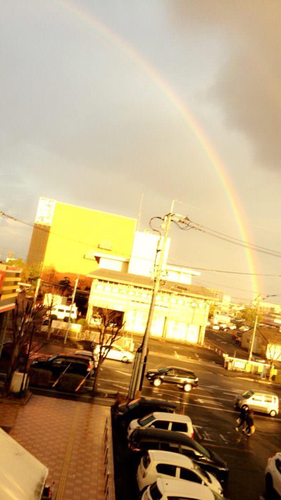 ギャルと見た虹