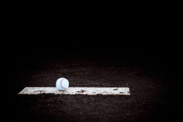 インストラクターと野球