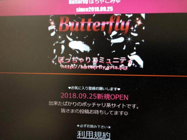 Butterflyぽちゃこみゅをご紹介