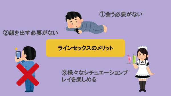 ラインセックスの特徴を図解